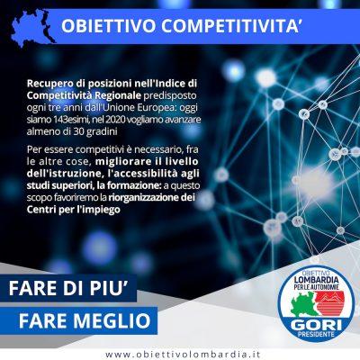 Obiettivo Competitività - Obiettivo Lombardia per le Autonomie Gori Presidente