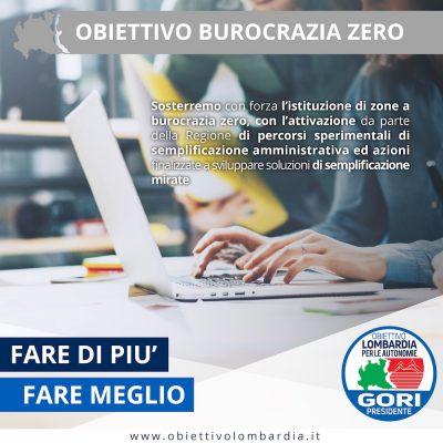 Obiettivo Burocrazia 0 - Obiettivo Lombardia per le Autonomie Gori Presidente