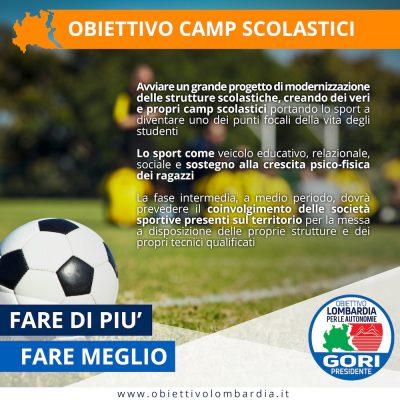Obiettivo Camp Scolastici - Obiettivo Lombardia per le Autonomie Gori Presidente