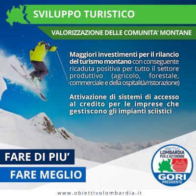 Comunità Montane -Turismo - Obiettivo Lombardia per le Autonomie Gori Presidente